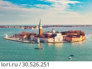 San Giorgio Maggiore island, Venice (2013 год). Стоковое фото, фотограф Sergey Borisov / Фотобанк Лори