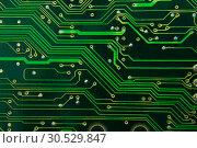 Купить «Computer motherboard circuit», фото № 30529847, снято 22 января 2010 г. (c) Tryapitsyn Sergiy / Фотобанк Лори