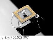 Купить «Concept of processor», фото № 30529907, снято 29 января 2010 г. (c) Tryapitsyn Sergiy / Фотобанк Лори