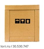 Delivery box. Стоковое фото, фотограф Tryapitsyn Sergiy / Фотобанк Лори
