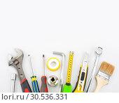 Купить «Tools», фото № 30536331, снято 9 февраля 2011 г. (c) Tryapitsyn Sergiy / Фотобанк Лори