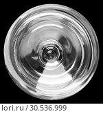 Wineglass isolated on black. Стоковое фото, фотограф Tryapitsyn Sergiy / Фотобанк Лори