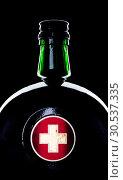 Купить «Bottle with medicine», фото № 30537335, снято 3 июня 2011 г. (c) Tryapitsyn Sergiy / Фотобанк Лори