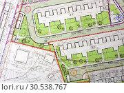 Купить «Architectural general plan», фото № 30538767, снято 24 мая 2012 г. (c) Tryapitsyn Sergiy / Фотобанк Лори