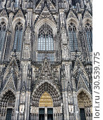Купить «The cathedral of Cologne», фото № 30539775, снято 23 апреля 2013 г. (c) Tryapitsyn Sergiy / Фотобанк Лори