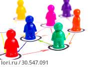 Networking concept. Стоковое фото, фотограф Tryapitsyn Sergiy / Фотобанк Лори