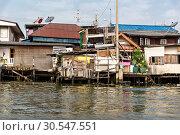 Купить «Shanty-town in Thailand», фото № 30547551, снято 24 декабря 2013 г. (c) Tryapitsyn Sergiy / Фотобанк Лори