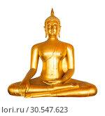 Golden buddha (2013 год). Стоковое фото, фотограф Tryapitsyn Sergiy / Фотобанк Лори