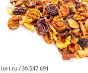 Купить «dried bits of fruits», фото № 30547691, снято 3 февраля 2014 г. (c) Tryapitsyn Sergiy / Фотобанк Лори