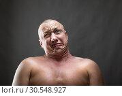 Купить «Making a face», фото № 30548927, снято 23 июля 2014 г. (c) Tryapitsyn Sergiy / Фотобанк Лори