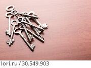 Heap of old keys. Стоковое фото, фотограф Tryapitsyn Sergiy / Фотобанк Лори