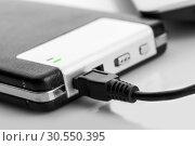 Купить «External storage drive», фото № 30550395, снято 3 декабря 2014 г. (c) Tryapitsyn Sergiy / Фотобанк Лори