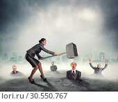 Купить «Business violence», фото № 30550767, снято 25 декабря 2014 г. (c) Tryapitsyn Sergiy / Фотобанк Лори