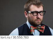 Strange nerd. Стоковое фото, фотограф Tryapitsyn Sergiy / Фотобанк Лори