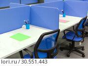 Купить «Office worker's place», фото № 30551443, снято 11 марта 2015 г. (c) Tryapitsyn Sergiy / Фотобанк Лори