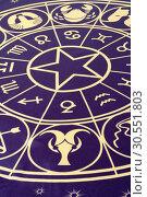 Купить «Zodiac circle», фото № 30551803, снято 6 апреля 2011 г. (c) Tryapitsyn Sergiy / Фотобанк Лори