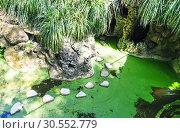 Купить «Lake in caves», фото № 30552779, снято 16 июля 2015 г. (c) Tryapitsyn Sergiy / Фотобанк Лори
