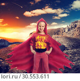 Angry girl in mountains. Стоковое фото, фотограф Tryapitsyn Sergiy / Фотобанк Лори