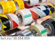 Rolls of packing scotch tapes. Стоковое фото, фотограф Tryapitsyn Sergiy / Фотобанк Лори