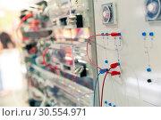 Electro panel. Стоковое фото, фотограф Tryapitsyn Sergiy / Фотобанк Лори