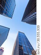 Skyscrapers. (2016 год). Стоковое фото, фотограф Tryapitsyn Sergiy / Фотобанк Лори