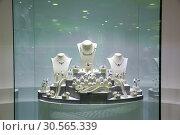 Купить «Jewelry exebition, collection of Ceylon treasures», фото № 30565339, снято 22 февраля 2017 г. (c) Tryapitsyn Sergiy / Фотобанк Лори