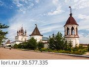 Купить «Mikhailo-Arkhangelsk monastery. The city Yuryev-Polsky,  Vladimir region», фото № 30577335, снято 23 августа 2013 г. (c) Наталья Волкова / Фотобанк Лори