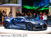 110 Ans Bugatti (2019 год). Редакционное фото, фотограф Art Konovalov / Фотобанк Лори