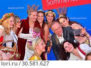Sommerfest Niedersachsen at Niedersaechsische Landesvertretung. (2017 год). Редакционное фото, фотограф AEDT / WENN.com / age Fotostock / Фотобанк Лори