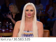 Купить «German NDR TV Talkshow NDR Talk Show at NDR-Studio Featuring: Daniela Katzenberger Where: Hamburg, Germany When: 16 Jun 2017 Credit: Schultz-Coulon/WENN.com», фото № 30583535, снято 16 июня 2017 г. (c) age Fotostock / Фотобанк Лори
