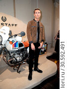 Belstaff Presentation during the London Fashion Week Men's collections... (2017 год). Редакционное фото, фотограф WENN.com / age Fotostock / Фотобанк Лори