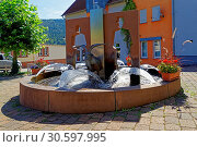 Купить «Geißbockbrunnen», фото № 30597995, снято 20 апреля 2019 г. (c) age Fotostock / Фотобанк Лори