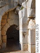 Купить «Nimrod Fortress, Golan Heights, Israel», фото № 30601379, снято 3 апреля 2019 г. (c) Знаменский Олег / Фотобанк Лори