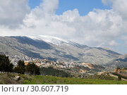 Купить «Mount Hermon, Golan Heights, Israel», фото № 30607719, снято 3 апреля 2019 г. (c) Знаменский Олег / Фотобанк Лори