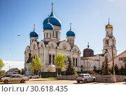 Купить «Никольский собор, Рогачево, Московская область», фото № 30618435, снято 9 мая 2018 г. (c) Юлия Бабкина / Фотобанк Лори