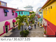 Купить «St. John's Antigua is the capital and largest city of Antigua and Barbuda, located in the West Indies in the Caribbean Sea and with a population of 22...», фото № 30637535, снято 22 января 2019 г. (c) age Fotostock / Фотобанк Лори