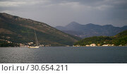 Купить «Mountains seen from Bay of Kotor, Montenegro», фото № 30654211, снято 27 мая 2019 г. (c) Ingram Publishing / Фотобанк Лори
