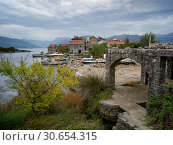 Купить «Fishing Village, Karce, Trivet, Montenegro», фото № 30654315, снято 23 октября 2019 г. (c) Ingram Publishing / Фотобанк Лори