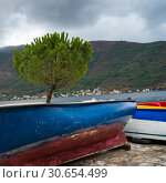 Купить «Boats at harbor, Perast, Bay of Kotor, Montenegro», фото № 30654499, снято 15 сентября 2019 г. (c) Ingram Publishing / Фотобанк Лори