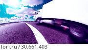 Купить «International delivering goods trailer», фото № 30661403, снято 21 июля 2012 г. (c) easy Fotostock / Фотобанк Лори