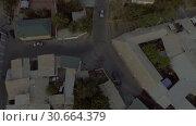 Купить «Съёмка с дрона жилого квартала возле мечети в Душанбе. Таджикистан.», видеоролик № 30664379, снято 31 июля 2016 г. (c) kinocopter / Фотобанк Лори