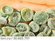 Купить «Dehydrated sweet kiwi», фото № 30665791, снято 19 июня 2019 г. (c) Яков Филимонов / Фотобанк Лори