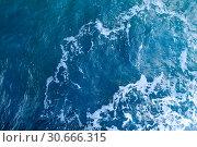 Купить «Вода. Фон. Вид сверху», фото № 30666315, снято 20 сентября 2016 г. (c) Татьяна Белова / Фотобанк Лори