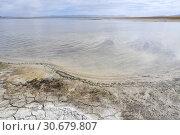 Купить «Китай. Солоноводное озеро Ньянгце (Нгангце Цо (4690 м)) на Тибетском нагорье», фото № 30679807, снято 7 июня 2018 г. (c) Овчинникова Ирина / Фотобанк Лори