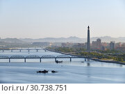 Купить «Pyongyang, capital of the North Korea. DPRK», фото № 30738751, снято 2 мая 2019 г. (c) Знаменский Олег / Фотобанк Лори