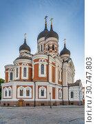 Купить «Alexander Nevsky Cathedral, Tallinn, Estonia», фото № 30747803, снято 27 июля 2018 г. (c) Boris Breytman / Фотобанк Лори
