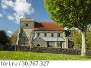 Купить «Spring afternoon at St Andrew's church in Steyning, West Sussex, England.», фото № 30767327, снято 4 мая 2019 г. (c) age Fotostock / Фотобанк Лори