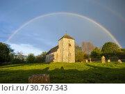 Купить «Spring evening at the Saxon church of St Botolph near Steyning, West Sussex, England.», фото № 30767343, снято 4 мая 2019 г. (c) age Fotostock / Фотобанк Лори
