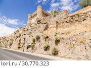 Купить «Толедо, Испания. Средневековый бастион городской крепостной стены», фото № 30770323, снято 25 июня 2017 г. (c) Rokhin Valery / Фотобанк Лори