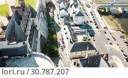 Купить «Chateau d'Amboise in Amboise, France», видеоролик № 30787207, снято 8 октября 2018 г. (c) Яков Филимонов / Фотобанк Лори